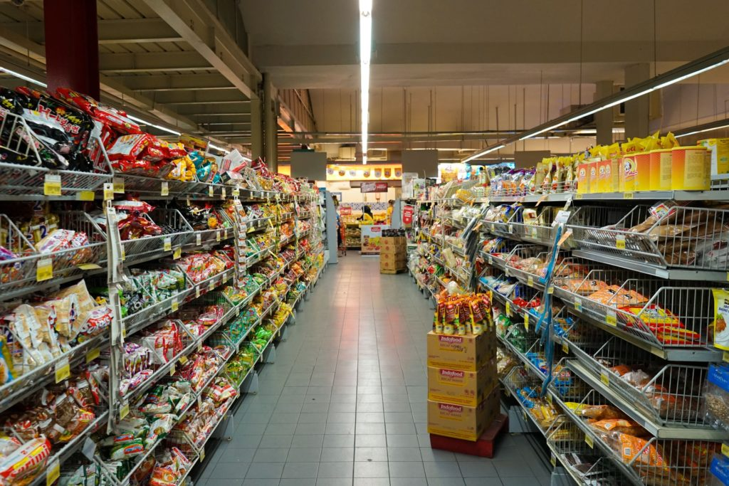 pasillo supermercado